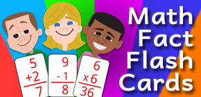 Math Fact Flash Cards banner
